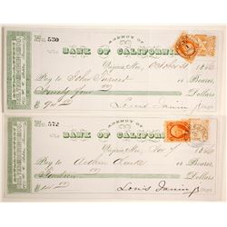 Choice Gould and Curry Checks (2)  (89946)