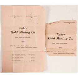 Taber Gold Mining Prospectus  (89144)