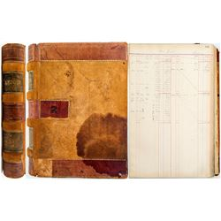 Nevada Douglas Copper Company Ledger  (48122)