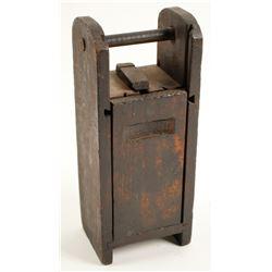 Wood Dynamite Carrier  (88564)