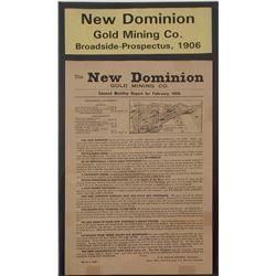 New Dominion Gold Mining Co. Prospectus   (59608)