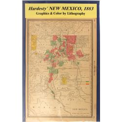 Map of New Mexico  (59350)