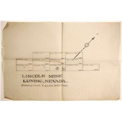 Lincoln Mine Claim Map  (89942)