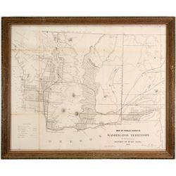 Washington Gold Region Map  (89921)