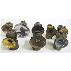 Miner's Carbide Lamps (8)  (86866)