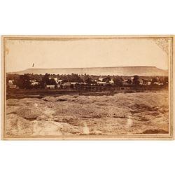 Oroville, CA Mining Panorama CDV  (89344)