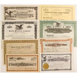 Alaska Mining and Business Stock Collection  (77059)