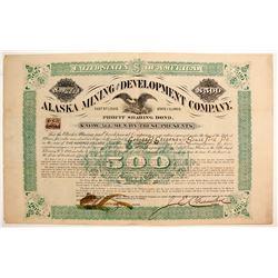 Alaska Mining and Development Company Profit Sharing Bond  (77054)