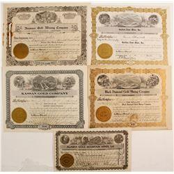 Five Alaska Gold Mining Stocks  (77058)