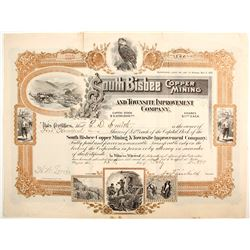 South Bisbee Copper Mining and Townsite Improvement Company Stock  (77018)
