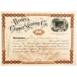 Borva Copper Mining Company Stock  (77002)