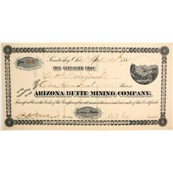 Arizona Butte Mining Company  (77031)