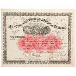Gunsight Consolidated Mining Company Stock  (77009)