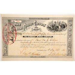 Gunsight Mining Company Stock  (77010)