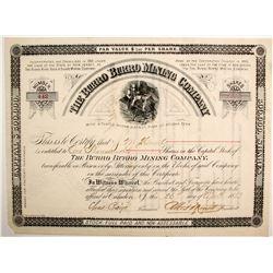 The Burro Burro Mining Company Stock Certificate  (77027)
