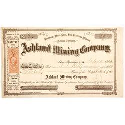 Ashland Mining Company Stock  (77008)