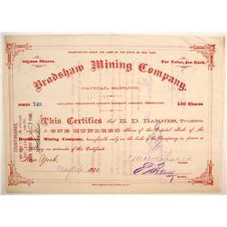 Bradshaw Mining Company Stock  (77030)