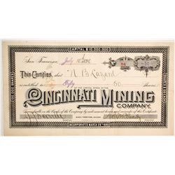 Cincinnati Mining Company Stock  (77003)