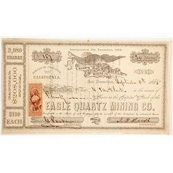 Eagle Quartz Mining Company Stock  (90501)