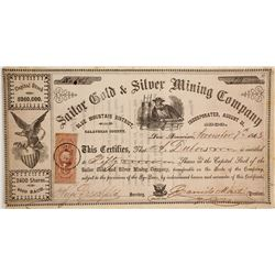 Sailor Gold & Silver Mining Company Stock  (90505)