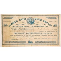 Humboldt Copper Mining Company stock  (90504)