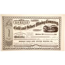 Honest Gold and Silver Mining Company Stock  (90503)