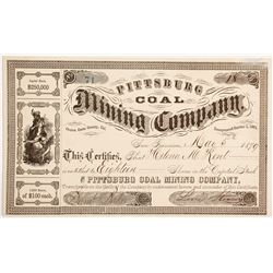 Pittsburg Coal Mining Company Stock  (90473)