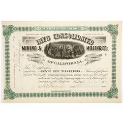 Inyo Consolidated Mining & Milling Company of California Stock  (88159)
