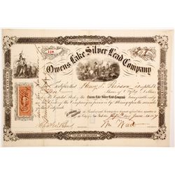 Owens Lake Silver Lead Company Stock  (88157)