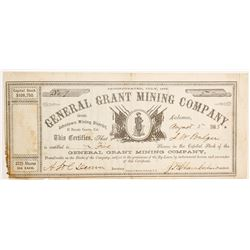 General Grant Mining Company Stock - Johntown (above Grayeagle)   (90474)