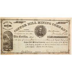 Copper Hill Mining Company Stock  (77044)