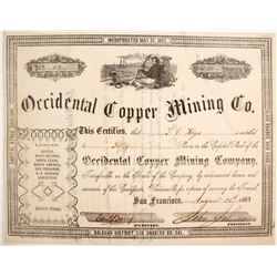 Occidental Copper Mining Company Stock  (77043)