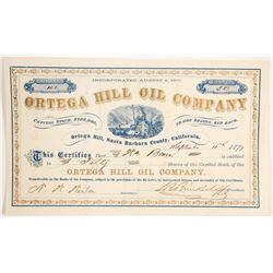 Ortega Hill Oil Company Stock  (90436)