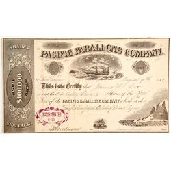 Pacific Farallone Company Stock - Guano Hunters  (90442)