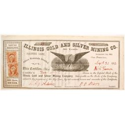 Illinois Gold and Silver Mining Company Stock  (80300)