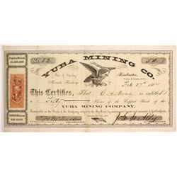 Early Yuba Mining Company Stock  (77041)