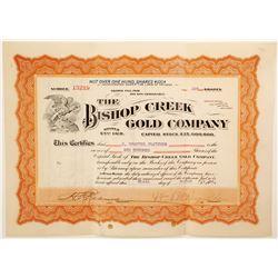 Bishop Creek Gold Company  (91037)