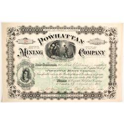 Powhattan Mining Company Stock  (89452)