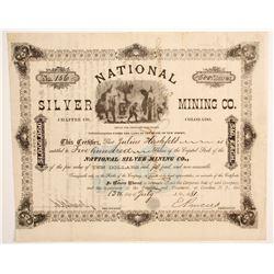National Silver Mining Company Stock  (89451)