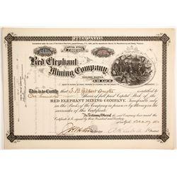 Red Elephant Mining Company Stock  (89437)