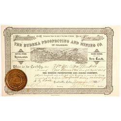 Eureka Prospecting and Mining Company Stock  (89423)