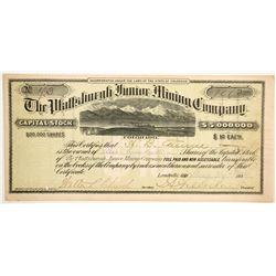 Plattsburgh Junior Mining Company Stock  (89463)