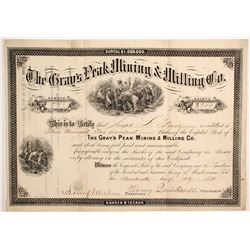Gray's Peak Mining & Milling Company Stock  (89435)