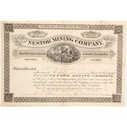 Nestor Mining Company Stock  (90523)