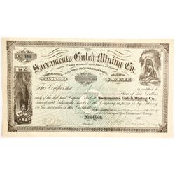 Sacramento Gulch Mining Company Stock  (89441)