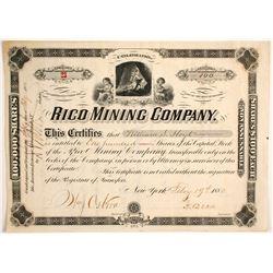 Rico Mining Company Stock  (89439)