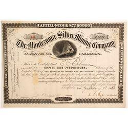 Montezuma Silver Mining Company Stock  (89453)