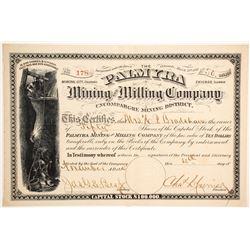 Palmyra Mining and Milling Company.   (89449)