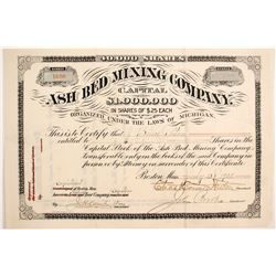 Ash Bed Mining Co Stock  (89926)