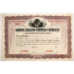 Rhode Island Copper Specimen Stock  (89931)
